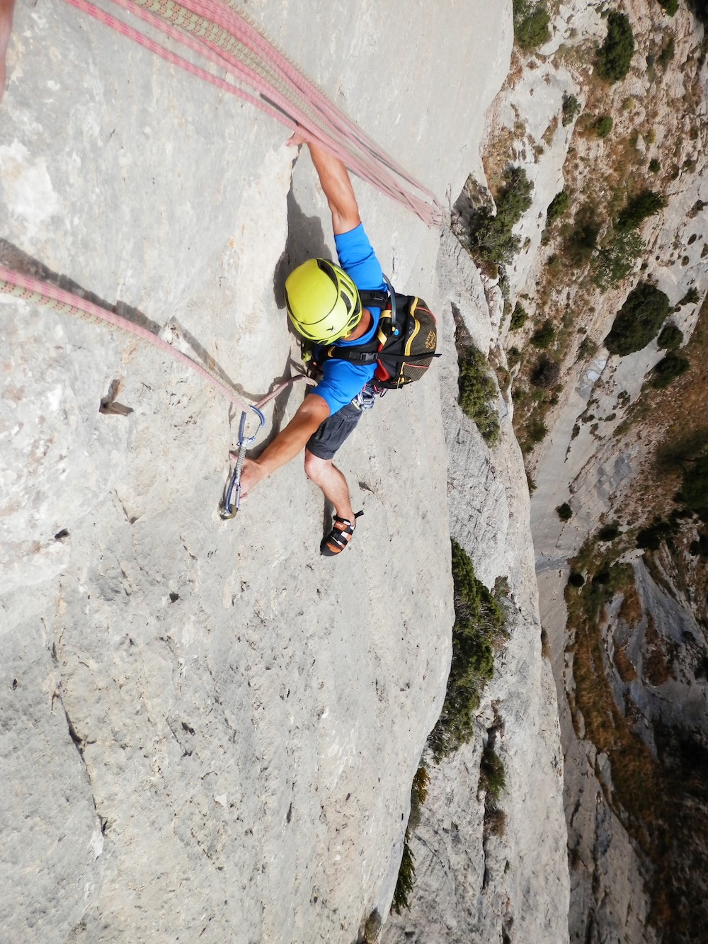 Escalada roca